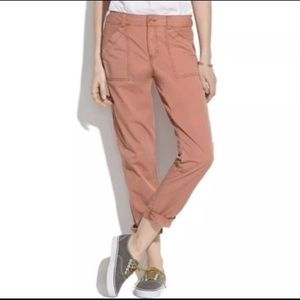 MADEWELL Dusty Rose Pants